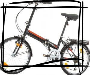 Bikesport Folding Bike bici plegable ligera