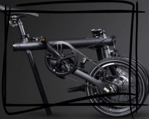 Xiaomi Qicycle plegada